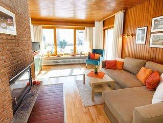 Ferienwohnung 1 EG (58qm), Terrasse, Kuche extra, 1 Schlaf- und 1 Wohn-/Schlafzi