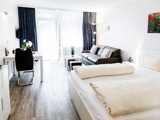 Comfort App, Balkon, Kuche, Pool, Sauna, Dampfbad, WLAN, Paare, Familie, Seeblic