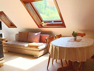 Ferienwohnung 5 mit 60 qm, 2 sep. Schlafzimmer, für maximal 5 Personen