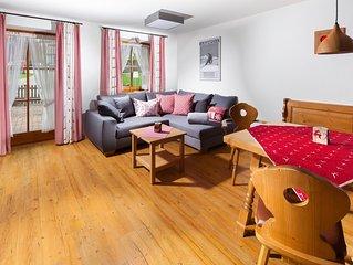 Ferienwohnung 2 Personen, 52 qm, Erdgeschoss, 1 separates Schlafzimmer, Terrasse