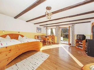 Ferienwohnung 5 -  50 m2 fur 2-3 Personen, 1 grosser Wohn-Schlafraum, sep. Kuche