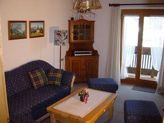 Drei-Raum-Ferienwohnung (2) 65qm, Bad/WC, 2 Extra-Schlafzimmer, Wohnkuche