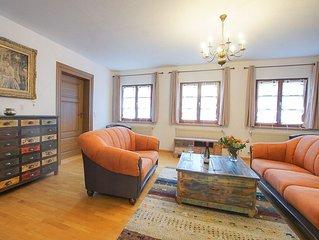Ferienhaus Altes Pfarrhaus, 300qm, Garten, 3 Schlafzimmer, max. 6 Personen