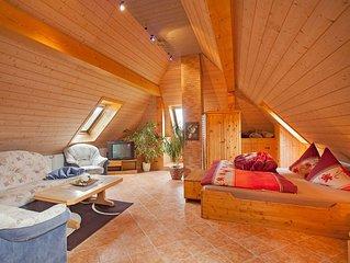 Ferienwohnung 'Talblick', 70qm, 1 Schlafzimmer, max. 6 Personen