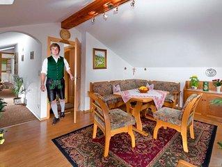 Ferienwohnung Untersberg für 2-4 Personen, zwei sparate Schlafzimmer