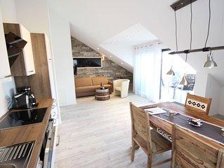 Appartement Merlot, 50 qm mit 1 Schlafzimmer, max. 4 Personen