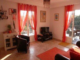 Appartement climatisé pour 5, piscine et proche du centre de La Croix Valmer.