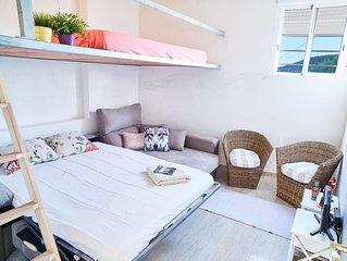 'Casa Isla': Maison pêcheur, Bord de Mer avec Terrasse, Accès direct Plage