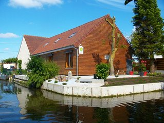 Saint Omer, au coeur du marais audomarois: maison pour 7 personnes.