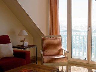 Ambleteuse, Cote d'Opale: appartement 4 personnes face mer.