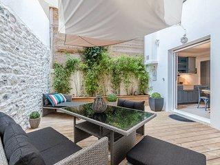 Bartéa - Une terrasse unique en plein centre de Biarritz !