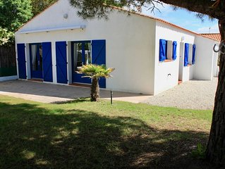 Jolie maison 6 personnes a 900 metres de la plage de Saint-Hilaire-de-Riez