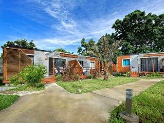 Residence Laniakea, vue sur montagne, 7 bungalows avec piscine chauffee commune,