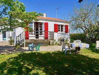 Une vraie maison de vacances à 2 pas de la plage de Portmain