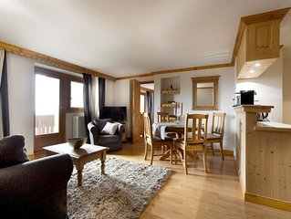 Appartement de 58m² moderne au centre de Courchevel 1850