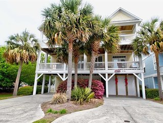 Kure Seahorse: 6 BR / 4 BA duplex - 1 side in Kure Beach, Sleeps 14