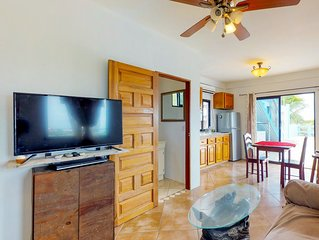 Multi-suite family property with a private pool, sea views, WiFi & partial AC!