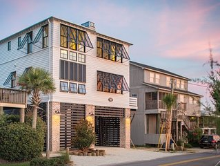 Oceanfront Newly Constructed- Huge outside deck, Pawleys Island SC
