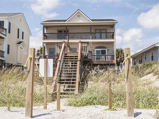 Kure All: 3 BR / 2.5 BA home in Oak Island, Sleeps 7