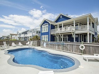Sea Ya Luv Ya: 5 Bed/4.5 Bath Oceanfront Home with Inverted Floorplan and 3 Cove