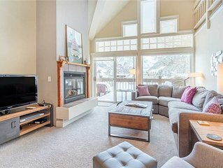 Flexible Cancellations - Quiet Ski-In/Ski-Out Condo With Cathedral Windows & Ama