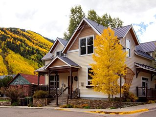 Sophisticated Style in Unique Downtown Telluride 3-Bedroom Townhome