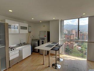 Cómodo estudio con vistas y WiFi - Comfortable studio with views & free WiFi