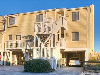Ocean Dunes 1006: 2 BR / 2 BA condo in Kure Beach, Sleeps 6