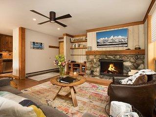 RMR: Beautifully Renovated 2 Bedroom Condo in Teton Village + Free Fun!