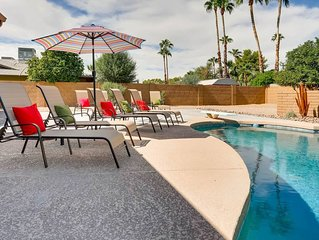 BEAUTIFUL SCOTTSDALE 4BR + HOT TUB/POOL TABLE!