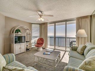 Sleeps 6, AshWorth, 17th Floor, Oceanfront, Pools, Wifi