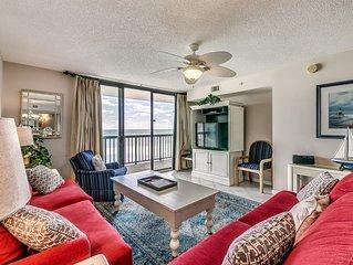 Terrific Ocean Bay Club 4 Bedroom Oceanfront condo, 1609!