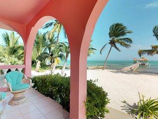 Romantic beachfront getaway w/sweeping views, shared pool, & more!