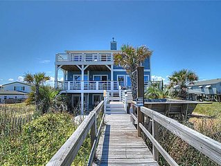 Boracay: Huge Vacation Home in the Heart of Kure Beach - Total Reno for '19