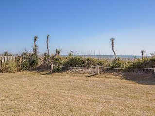 Fantastic Oceanfront Views! Beautifully decorated two level condo!
