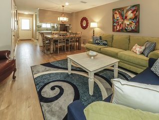 Exceptional townhome close to beach & village. Come stay at Butterfly Villa!