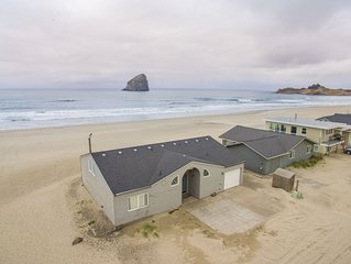 Casa de Vida #158 - Oceanfront home in the sand at Pacific City