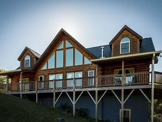 1 Awesome Skyview - Spectacular log home with top of the line amenities!
