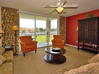 Yacht Club Villas 2-103, 3  Bedroom Waterfront Condo, Hot Tub and Free Wi-Fi!