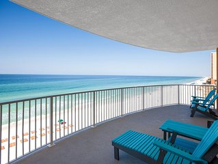 BEAUTIFUL GULF FRONT CONDO END UNIT!! 2bdrm/2bth Beach Service INCLUDED!!