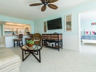 Beach Condo/ Onsite Restaurant/ Sleeps 6/ Island Beach Resort