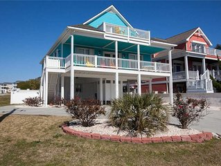 Maota Ile Same (Castle by the Sea): 5 BR / 4 BA single family home in Kure Beach