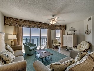 Windy Hill Dunes 1303, 3 Bedroom Beachfront Condo, Hot Tub and Free Wi-Fi!