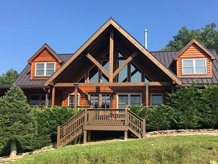 1 Appalachian Sky  - Beautiful home, amazing views, pool table, theater room!