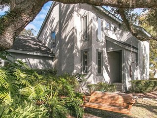 Unique home with the best location! Walk to St. Simons Pier Village!