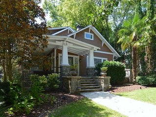 Historic Craftsman House in Midtown - Hot tub, Wifi, free parking