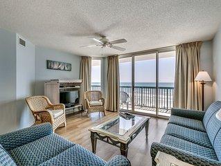 AshWorth, Oceanfront, 5th Floor, Pools, Wifi, Near Main