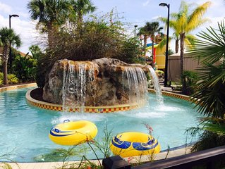 Fantasy World Club Villa sleeps 6 with water park by Disney World