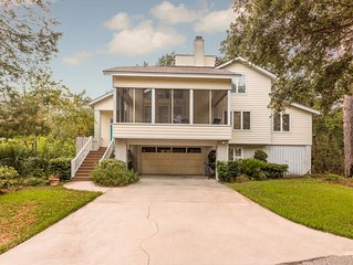 'Island Time Cottage' Perfect for much needed R&R on St. Simons Island, GA!