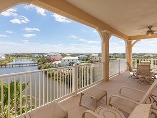 Cinnamon Beach Lake View End Unit - 1145 - Over 2100 sf on the Water!!